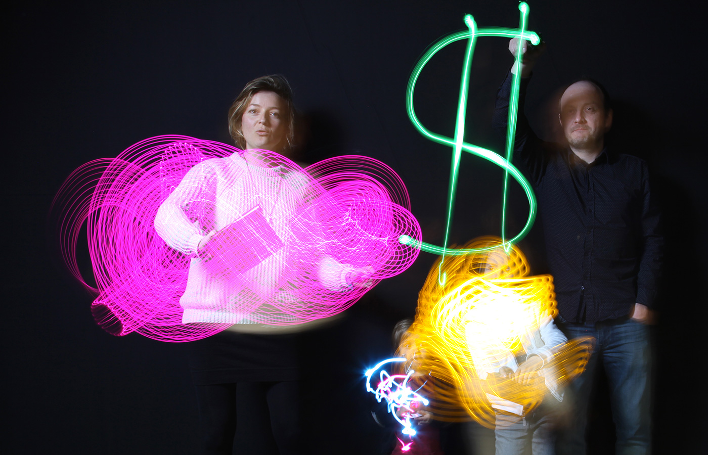 cover light painting – Les métamorphoses Euralille
