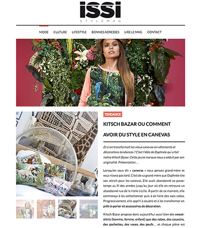 cover Parution presse ISSI MAGAZINE