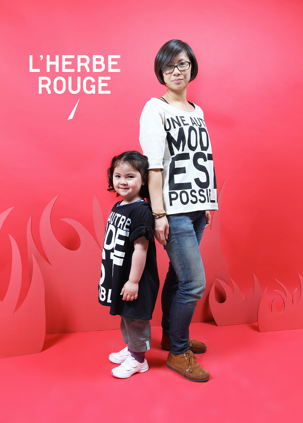 cover photocall d'herbe rouge